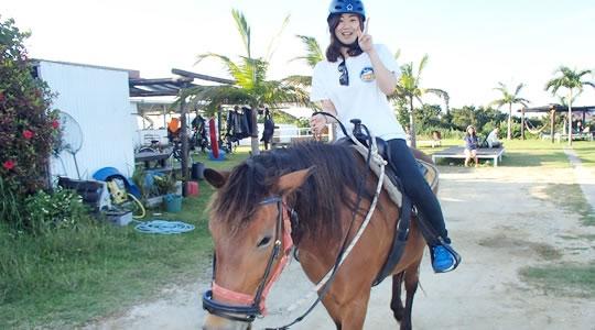 初心者でも簡単に乗馬体験