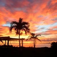 西表島夕日夕焼けサンセット