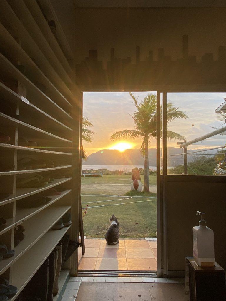 朝日の見える宿