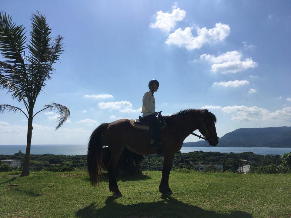 西表島乗馬