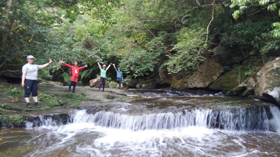 ピナイサーラの滝の上