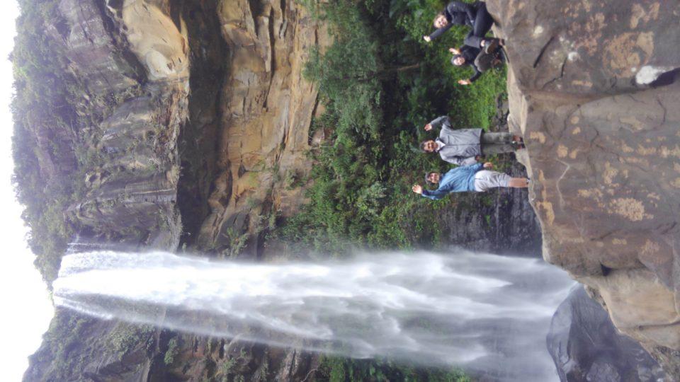 ピナイサーラの滝壺