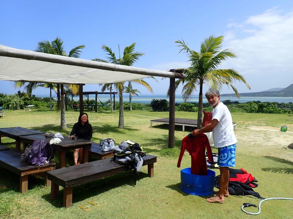 西表島の見晴らしの良い宿