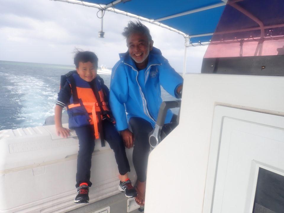 西表島のシュノーケルツアー