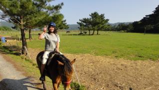 ユッキー乗馬♪ 004