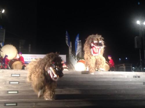 那覇の獅子舞