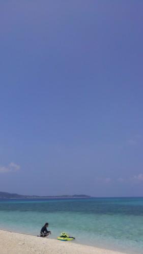 離島 西表島の海