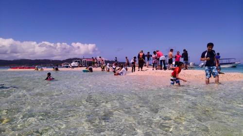 西表島のシュノーケル バラス島