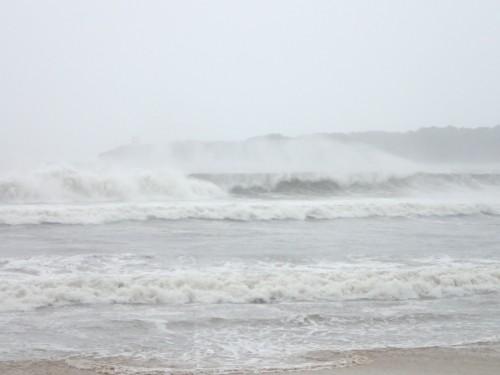 台風13号の爪痕