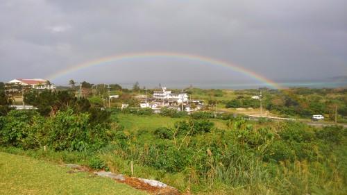 西表島の虹