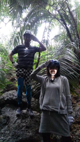 西表島の洞窟