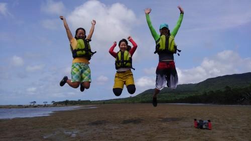 西表島の干潟遊び
