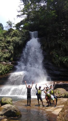 西表島 ナーラの滝
