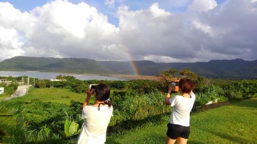 西表島モンスーンの虹