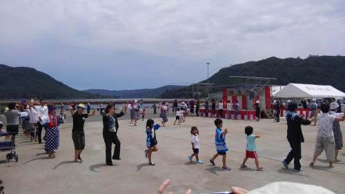白浜地区 海神祭